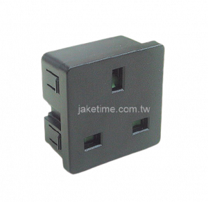 1U size 45mm*45mm UK Outlet Socket